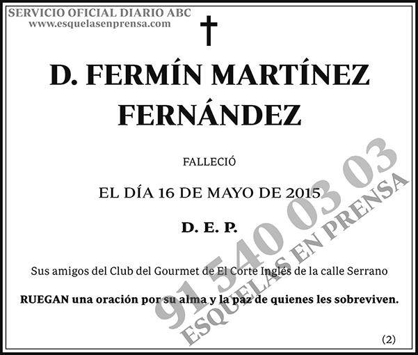 Fermín Martínez Fernández